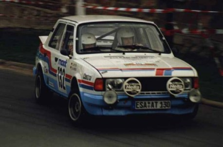 Skoda were a formidable force in Group B rally events shown here with this 1984 LR130
