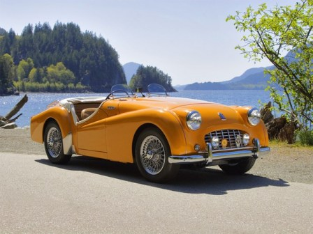 Triumph TR2 was introduced in 1953 as a direct response to MG.