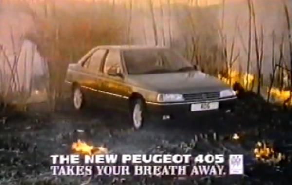 Peugeot 405 did indeed, take your breath away.