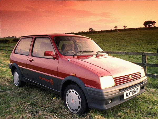 MG Metro Turbo's chrms were eclipsed by the original 1300 for Mike Humble.