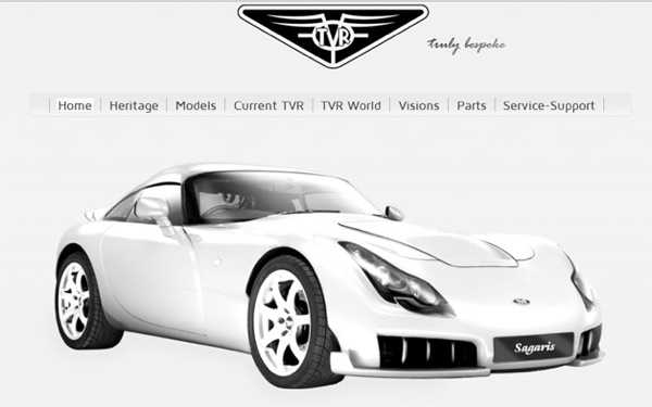 TVR website reveals little, but promises much