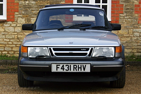 My Saab 900 - a car I'll probably keep forever