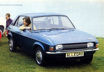 Austin Allegro launched today