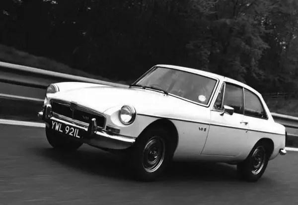MGB GT V8 - launched amid a fuel crisis