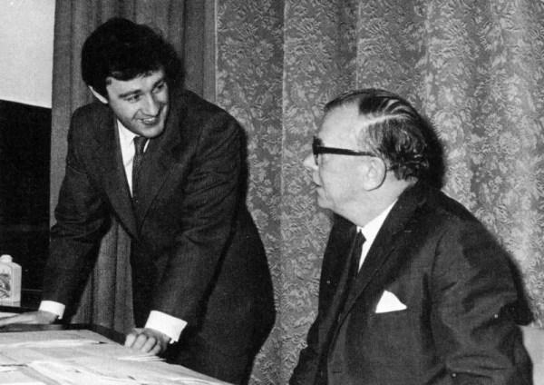 Geoffrey Robinson and Lofty England