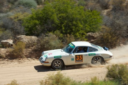 Alastair Caldwell's class-winning Porsche 912 wearing it's non-original plastic bucket air scoop