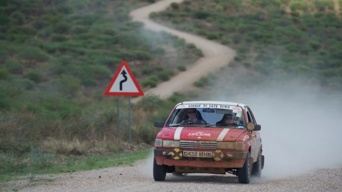 Jane and Gillian remain a solid 8th place, ahead of numerous modern 4x4s and six-cylinder rally cars, making the Maestro famous