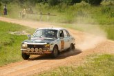 Peugeot 504 of Juchault and De Wazieres looks just right gunning it through rural Zambia