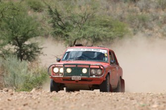 Pickering and Boddy were class winners in their Datsun P510