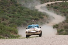 Van Cawenberge and Castelein were fastest 2wd car and fastest classic, thid overall. They took car preparer Francis Tuthill along as an entrant in a Toyota Hilux!