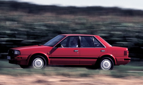 Nissan's conventional saloon was a 1980s hero of the UK motor industry