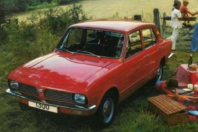 On 3 March 1976 Leyland Cars dropped the Toledo name from its Triumph range, all its small saloons were now branded as Dolomites.