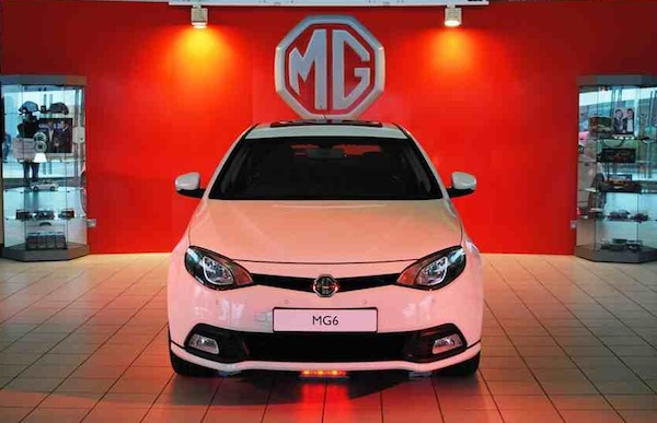 Come and see where the MG6 is built