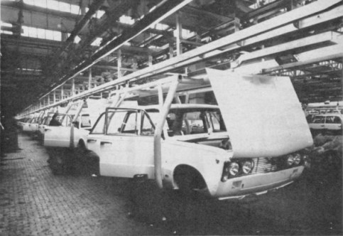 This is not a black & white photo - It really was this bleak in the Warsaw plant of FSO