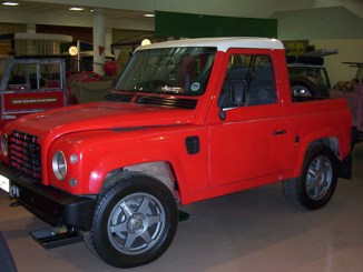 The 1997 Land Rover LCV2/3