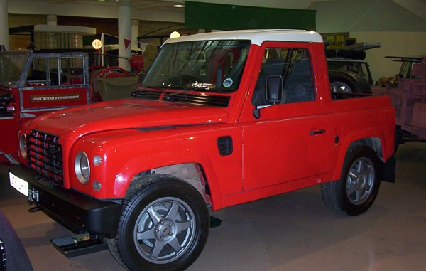 The 1997 Land Rover LCV2/3