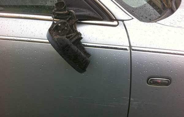 Not liking the look of what's been done to my Rover 75.