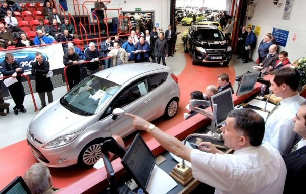 Cars are getting higher values at auction. A knock on from the scrappage scheme of a couple of years' back?