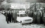 Opening in 1962 to provide engines & transmissions, Ellesmere Port became a full scale production line two years later.