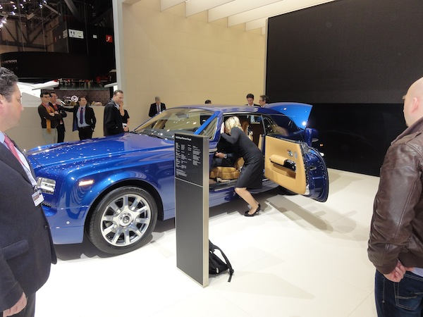 Rolls-Royce at Geneva