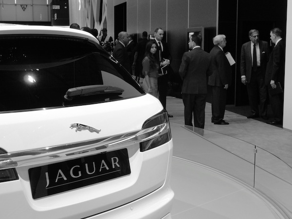 Sportbrake and Jaguar's top brass
