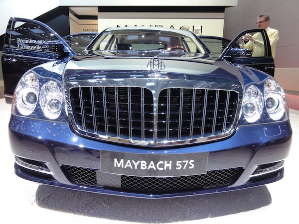 Maybach at Geneva