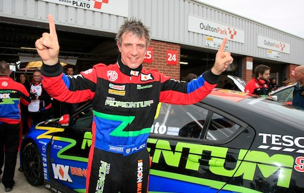 Jason Plato on pole for tomorrow's BTCC triple-header at Oulton Park