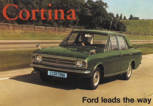 Ford Cortina was the car of the moment in 1967.