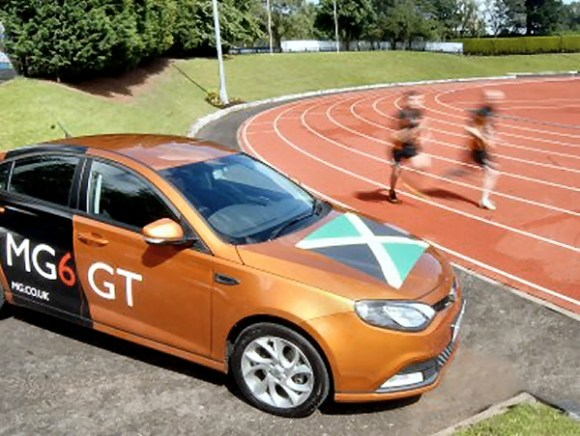 MG6 will be on hand at for some of 2012's Olympic Athletes