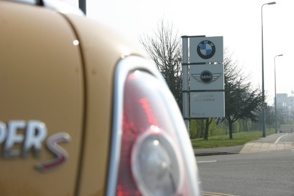 The MINI factory in Cowley will receive some of BMW's £250m investment into the UK