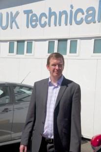 SMTC UK's Vice-Director - Powertrain, Iain Fleming