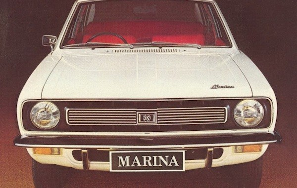 Leyland Marina, South African style. Marque confusion?