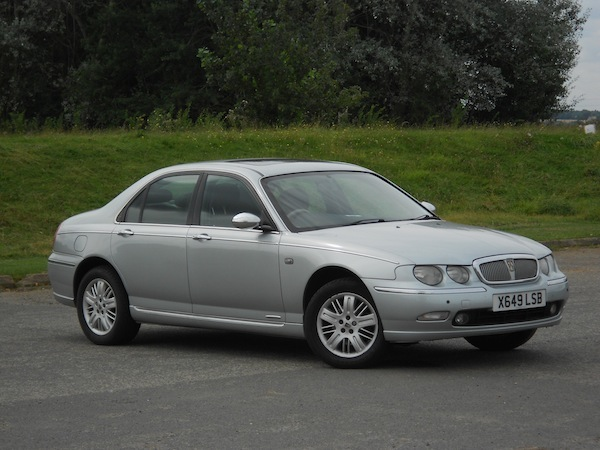 Our Rover 75 yesterday, not leaking its coolant yet