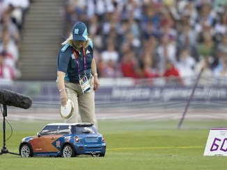 MINIs are proving useful at London 2012... but...