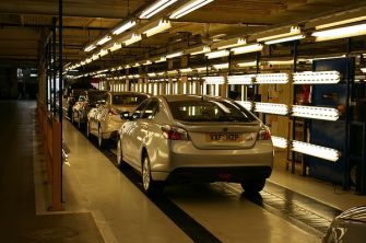 MG6s being prepared for sale