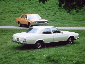 The two cars imported to Britain in 1973, photographed together in the grounds of Blenheim Palace for UK press release purposes. They are now together again after nearly 40 years!