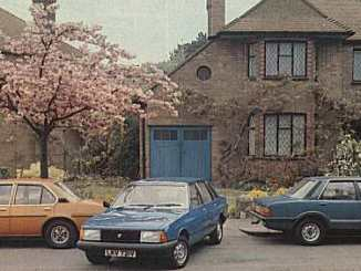 Vauxhall Cavalier Mk1, Talbot Solara and Ford Cortina 1.6L