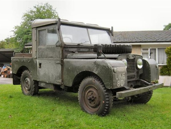 Winston's Land Rover
