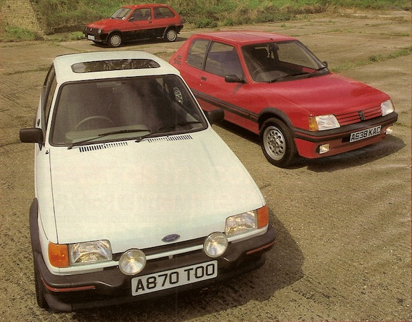 Tested : MG Metro Turbo vs 205GTI vs XR2 - AROnline