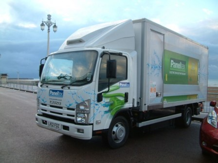 AROnline grabbed a steer in this 7.5 ton Isuzu truck for the 2012 RAC Future Car Challenge.