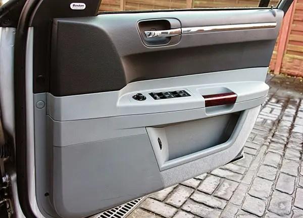 Chrysler 300C door trim.