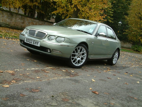 I've loved every moment of ownership, but a new project beckons - fancy a really decent Rover 75? She's up for the taking!