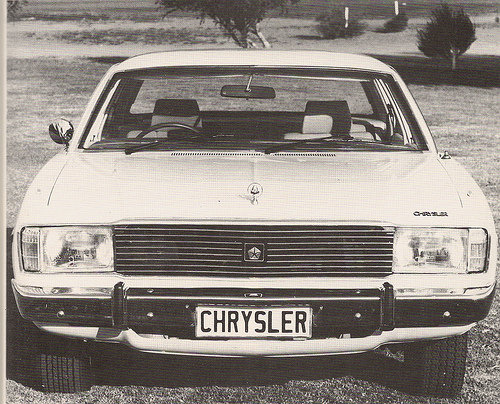 Concepts and prototypes : Chrysler Diplomat