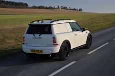 Van version of the MINI very convincing to look at