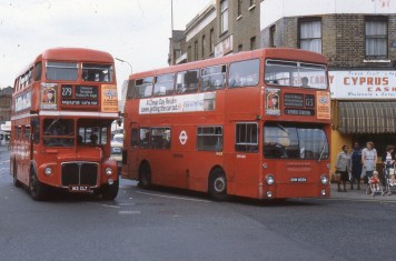 The DMS or London Fleetline was outlived by the Routemaster of which it was meant to fully replace.