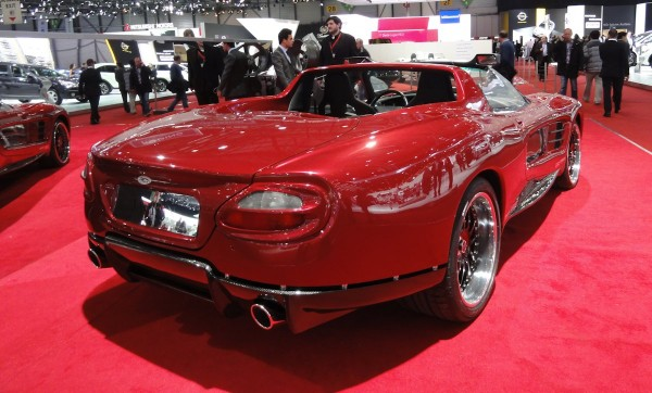 Sbarro Jaclyn, based on the Jaguar XK