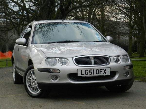 Rover 25 - Driven often by the kind of owner who falls prey of rip off garages.
