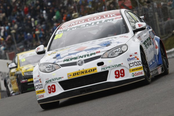 Sam Tordoff finished an impressive fourth in his first race for MG KX Momentum Racing