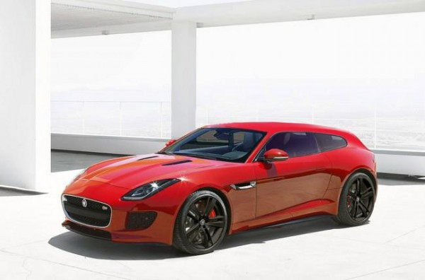 Jaguar F-Type (Jaguar magazine rendering)