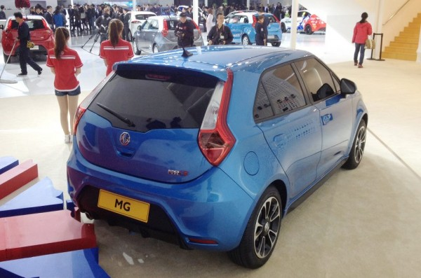 MG3 Euro in Shanghai